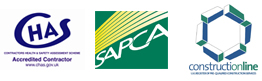 CHAS, SAPCA and Construction Line