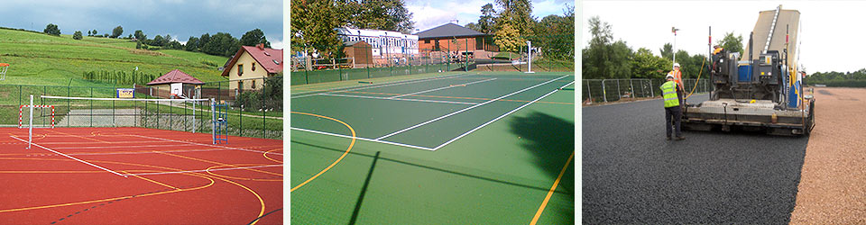 Macadam Courts & Pitches