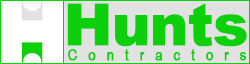 Hunts Contractors Logo
